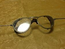 Vintage Wilson Safety Work Goggles Clear Lens