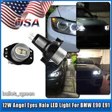 2x 6W BMW Angel Eyes LED Halo Ring Light Bulbs For E90 2006-2008 325i 330i 335i