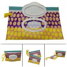 Baby Travel Wipe Case Wet Wipes Box Reusable Changing Dispenser Storage Bag LD