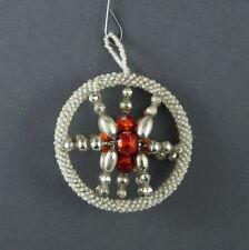 Alter Christbaumschmuck - Gablonzer Jugendstil Ornament um 1920  (# 7097)