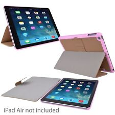 Incipio Lexington Protective Leather Cover for iPad Air (Tan/Pink) MSRP $39.99
