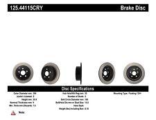 High Carbon Alloy Brake Disc fits 2000-2007 Toyota Celica Matrix Corolla  CENTRI