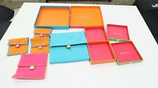 Jewelry packaging boxes JCPenney Jewelry Colorful Gift boxes lot Necklace set
