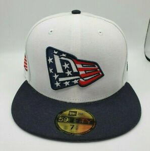 New Era 59fifty Fitted Hat, Cap - Fly Your Own Flag, American Flag, USA- 7 1/2