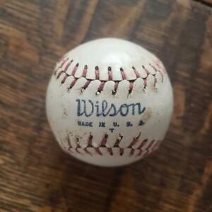"Rare Vintage Wilson Miniature Baseball 2"" Diameter Mini Ball Roy Hofheinz"