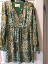 Anthropologie Silk Kaftan Style Dress- NWOT- SIZE 2