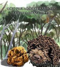 Olio con VERO tartufo Bianchetto per addestramento cani (tuber-Borchii)