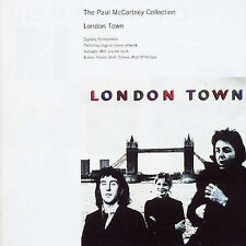 The PAUL MCCARTNEY COLLECTION LONDON TOWN WINGS RARE CD Jewel Case