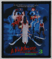 PATCH - A Nightmare on Elm Street 3, The Dream Warriors - Horror, Freddy Krueger