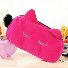 Women Beauty Cosmetic Pouch Bags Makeup Organizer Bag Lovely Cat Bag Christmas