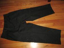Men Lavigne Tuff Black Cargo Police Uniform Pants 42 X 26.5 Excellent Condition