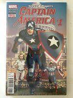 STEVE ROGERS CAPTAIN AMERICA # 1 Comic 1st Print NM FALCON Marvel Gemini ship