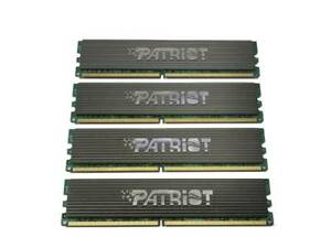 4GB (4x 1GB) Patriot DDR21GBP64AW108 DDR2 PC2-6400 800MHz 240Pin Desktop PC RAM