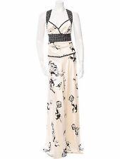 STUNNING, NWT, SUPER RARE, $3,295 DONNA KARAN SILK HALTER MAXI DRESS