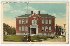 High School in Gettysburg PA OLD