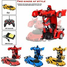 1:18 Transformer RC Robot Car Remote Control 2 IN1 Toy Kids Gift Fashion 2020