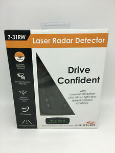Brand New Whistler Laser Radar Detector Z-31RW with Red Light Camera Detection
