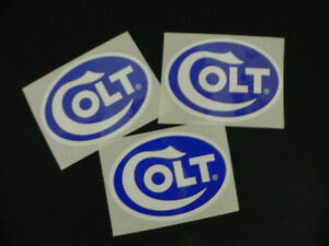 Colt Authorized Decals 3 of Them