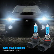 2X 9006 Xenon HID Headlight High/Low Beam Halogen Bulbs 5000K 100W #9610