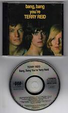 TERRY REID (1ST CHOICE 4 LED ZEP SINGER) BANG YOU'RE TERRY REID CD UK IMP BGO