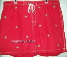 NWT POLO RALPH LAUREN SWIM TRUNK BOARD SHORT SWIMSUIT RED 4194267 XXL 2XL