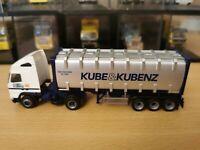 (P4) Herpa LKW H0 1:87 Volvo Sattelzug Kube & Kubenz