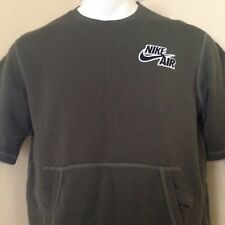 NWT NIKE AIR S/S OLIVE GREEN CREW NECK SWEATSHIRT SIZE M