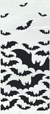 20 x Halloween Black Bats cellophane Treat Bags Cello Party Trick or Treat Bags