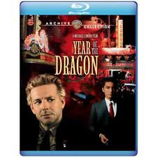Year of the Dragon 1985 (Blu-ray) Mickey Rourke, John Lone, Ariane - New!