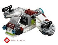 Lego Star Wars - Clone Trooper Speeder from set 75206 (NO BOX / MINIFIGURES)