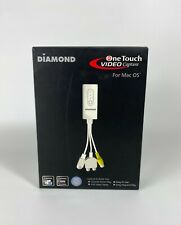 Diamond Multimedia VC500MAC USB 2.0 One Touch VHS to DVD Video Capture Device D7