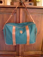 Vintage Polo Ralph Lauren Green Carry On Duffle Tote Gym Luggage Travel Bag New