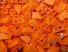 *NEW* Lego Orange Slope Bricks 1x2 Stud Blocks  Walls Roof Houses - 20 pieces