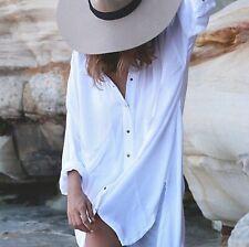 Zulu & Zephyr Beach Rayon Shirt Size 8