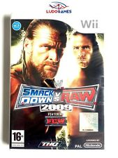 Nintendo Wii PAL version WWE SmackDown vs. Raw 2009