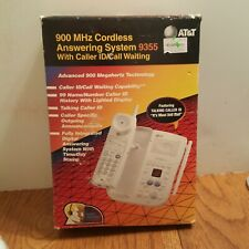 New AT&T Cordless Telephone Answering System 900 MHz Caller ID Call Waiting 9355