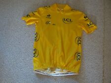 TOUR DE FRANCE 2012 LCS YELLOW LEADERS CYCLING JERSEY [M] Unused Wiggins year !!