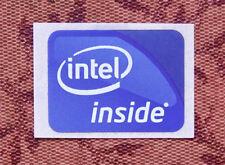 Intel Inside Sticker 15.5 x 21mm 2009 Version Case Badge USA Seller