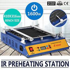 IR Preheating Oven T8280 Rework Station 280x270mm Cut Through Preheating Plate