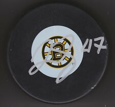 RICH PEVERLEY Signed BOSTON BRUINS 2011 CUP PUCK w/COA #3