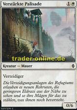 4x Verstärkte Palisade (Fortified Rampart) Battle for Zendikar Magic