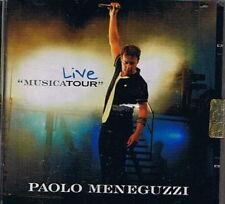 PAOLO MENEGUZZI - LIVE MUSICATOUR - CD Sigillato