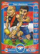 2014 Teamcoach Footy Pointers Card - Tom Liberatore
