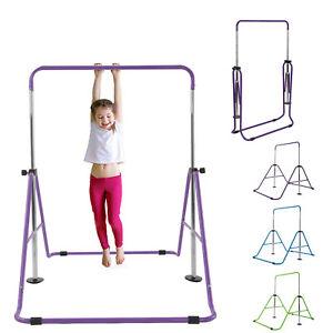 Gymnastics Bar Expandable Horizontal Training Bars For Children Kids Home Gym