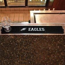 "Philadelphia Eagles 3.25"" x 24"" Bar Drink Mat - Man Cave, Bar, Game Room"