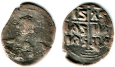 Bronze follis with bust of Christ, 1028-1034 Ad, Byzantine Empire