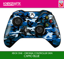 KNR6623 PREMIUM XBOX ONE CONTROLLER SKIN CAMO BLUE