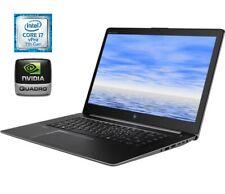 """HP ZBook Studio G4 15.6"""" FHD Screen, Intel i7-7820HQ, 32GB RAM, 1TB SSD, Nvidia"""