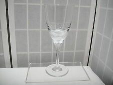 Hanae Mori Crystal Butterfly, Wine Stem, Glass, Franklin Mint, 1 pc.