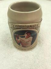 Babe Ruth - The Great Bambino - Beautiful Embossed Mug / Stein Baseball 1995